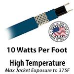 High Temperature 10 W/Ft