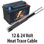 12 & 24 Volt Self-Regulating Cable