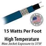 High Temperature 15 W/Ft