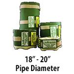 """18"""" - 20"""" Pipe Diameter"""