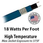High Temperature 18 W/Ft