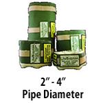 """2"""" - 4"""" Pipe Diameter"""