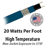 High Temperature 20 W/Ft