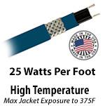High Temperature 25 W/Ft