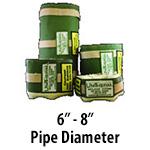 """6"""" - 8"""" Pipe Diameter"""