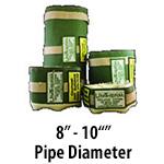 """8"""" - 10"""" Pipe Diameter"""