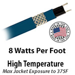 High Temperature 8 W/Ft