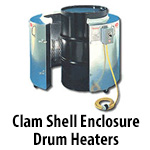Clam Shell Drum Heaters