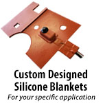 Custom Silicone Rubber Heating Blankets