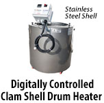 Digitally Controlled Clamshell Drum Heaters