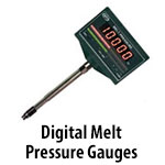 Digital Melt Pressure Gauges