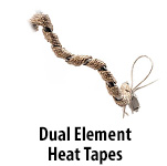 Dual Element Heating Tapes