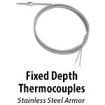 Fixed Depth Thermocouples
