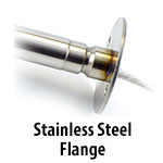 Cartridge Heater - Stainless Steel Flange