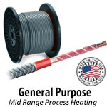 General Purpose - Constant Wattage Heat Trace Cable