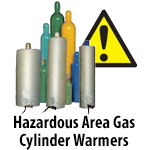 Hazardous Area Gas Cylinder Warmers