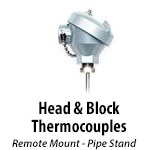 Head & Block Thermocouples