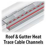 Roof & Gutter Heat Trace Channel