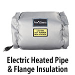 Heated Pipe & Flange Insulation