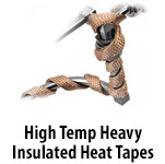 High Temperature Heavy Insulated Heating Tape