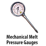Mechanical Melt Pressure Gauges