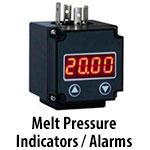 Melt Pressure Indicators / Alarms