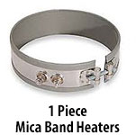 1 Piece Mica Band Heaters