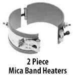 2 Piece Mica Band Heaters