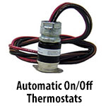 Automatic On/Off Thermostats