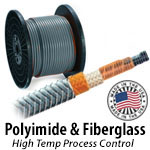 Polyimide and Fiberglass - Constant Wattage Heat Trace Cable