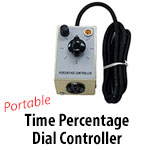 Portable Time Percentage Dial Controller