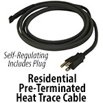Pre-Terminated Self-Regulated Heat Cable