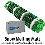 Snow Melting Mats & Controllers