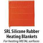 SRL Silicone Rubber Heating Blankets