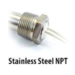 Cartridge Heater - Stainless Steel NPT