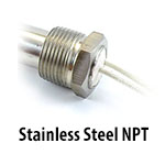 Cartridge Heater - Stainless Steel NPT