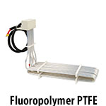 Fluoropolymer Over The Side Heaters