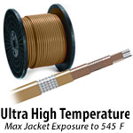Ultra High Temperature Constant Wattage Heat Trace Cables