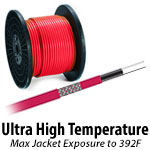 Ultra High Temp (Outer jacket rated to 392F)