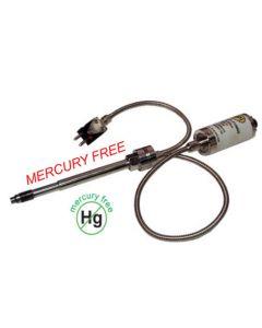 "Mercury Free Pressure + Temp 10,000psi 12"" stem + 18"" flex"