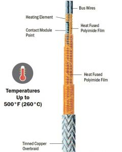 KKCAB High Temperature Constant Wattage Heating Cable