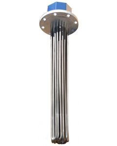 "25.25"" 6kw 8 watts per sq. inch Flange Heater"