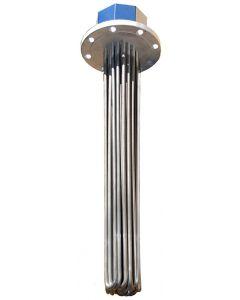 "33"" 8kw 8 watts per sq. inch Flange Heater"