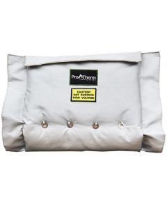 "48"" x 12"" Removable Flange Insulation Jacket"