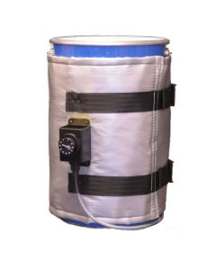 High Power 5 Gallon 500w Heated Jacket - Plastic, Metal or Fiber Container