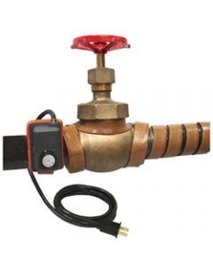 "Silicone Rubber Heat Tape adj. Thermostat 1"" x 72"" 432 Watt"