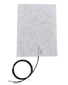 """6"""" x 8"""" 12 Volt - Ultra Flexible Heating Blanket"""