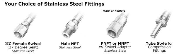 heated hose fittings