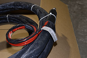 Heated hose for general purpose environment