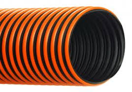 Heated hose for corrosive environments